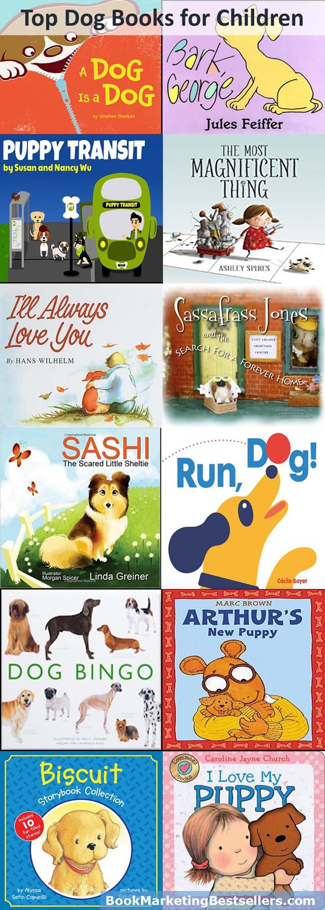 Top Dog Books for Kids: Check them out. You and your children and your grandchildren and your nieces and nephews will be glad you did.