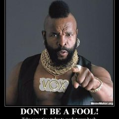 Book Marketing Meme from Mr. T