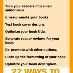 Double Your Book Sales