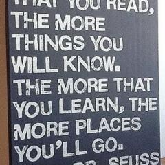 Dr Seuss on Reading