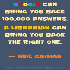 Neil Gaiman: Librarians Can Do Magic