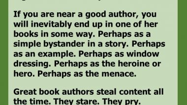 Great Authors Steal Content