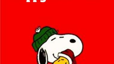 Happy Holidays from Snoopy, Woodstock, and John Kremer