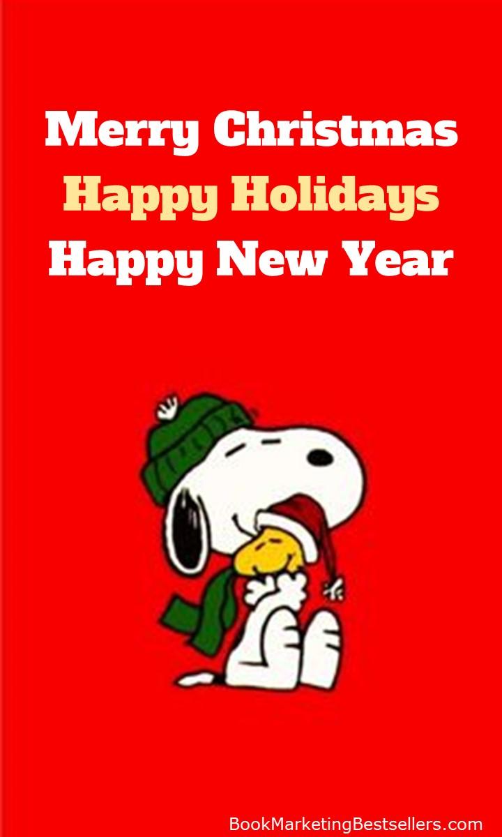 Happy Holidays from Snoopy, Woodstock, and John Kremer