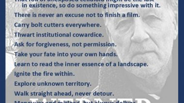 Werner Herzog on Creating Great Content