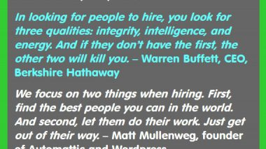How to Hire the Best People