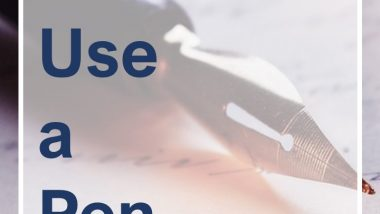 How to Use a Pen Name