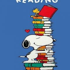 Snoopy and Woodstock Love to Read