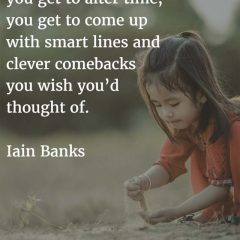 Iain Banks on Writing