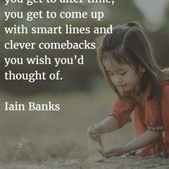 Iain Banks on Writing