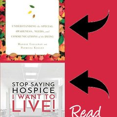If You Like Final Gifts - You'll Love Stop Saying Hospice
