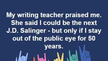 J D Salinger meme