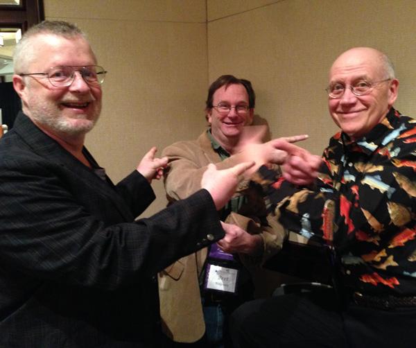 John Kremer with Bret Ridgway and Hobie Hobart