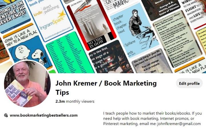John Kremer on Pinterest
