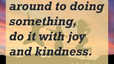 John Kremer on Joy and Kindness