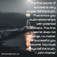 John Kremer on Truth