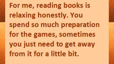 Lebron James on Reading Books