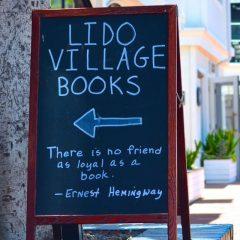 Book Marketing Chalkboard