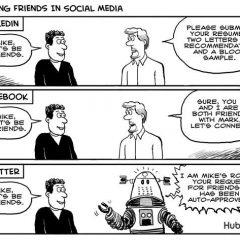 Making Friends via Social Media