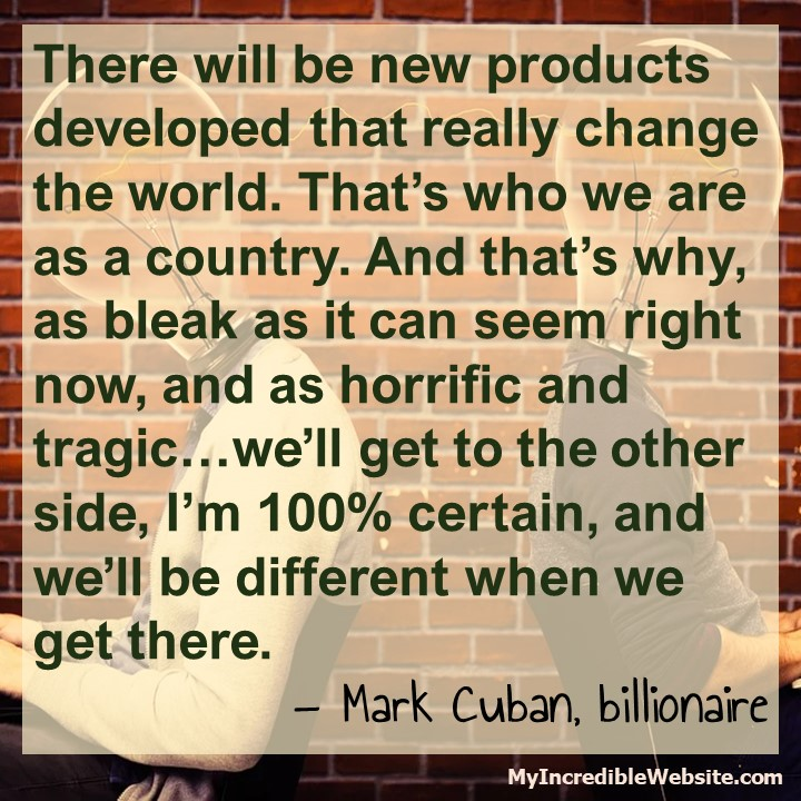 Mark Cuban on Covid-19 Recovery
