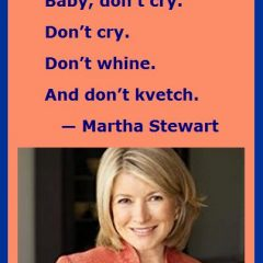 Martha Stewart on How to Make It