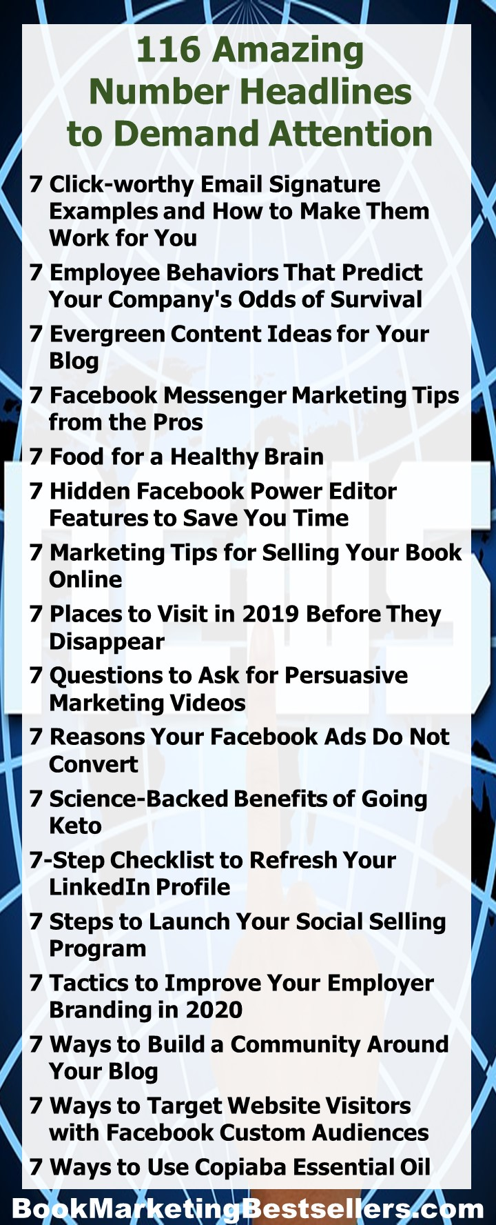 116 Headlines You Can Use