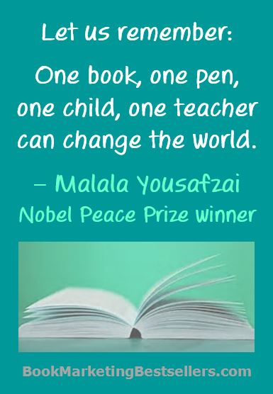 One Book Can Chanage the World - Let us remember: One book, one pen, one child, one teacher can change the world.</em srcset=