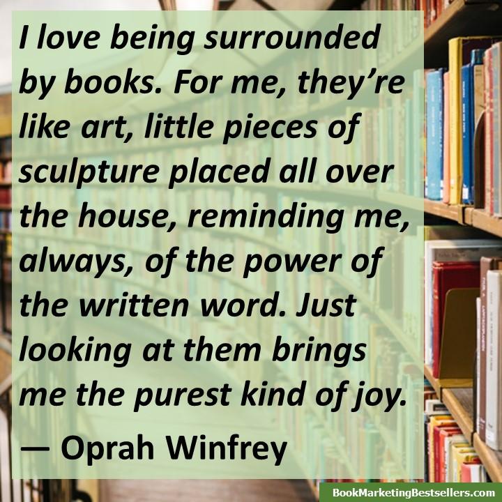 Oprah Winfrey on Books