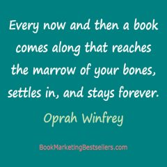 Oprah Winfrey on Great BOoks