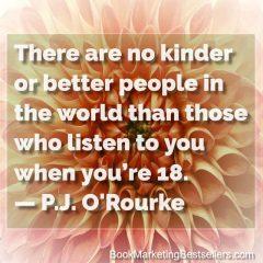 P J O'Rourke on Kindness