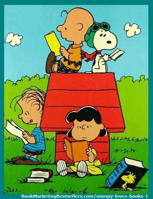 Snoopy, Woodstock, Charlie Brown, Lucy, Linus, and the rest of the Peanuts family love books. You are welcome to share any of these book-lover images I've found on Pinterest. I love books! I love reading! I hope you do as well.