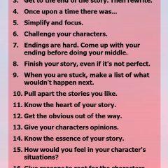 Pixar's 22 Rules for Storytelling