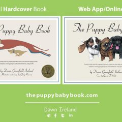 The Puppy Baby Book Postcard