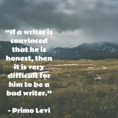 Primo Levi on Good Writing