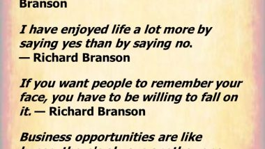 Business Quotes from Richard Branson