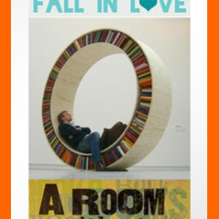 Reading Bookmark: A Room Without Books