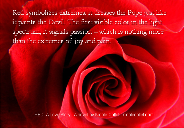 Red novel by Nicole Collet