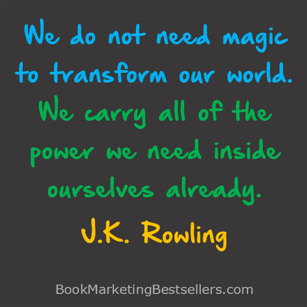 J K Rowling on Magic