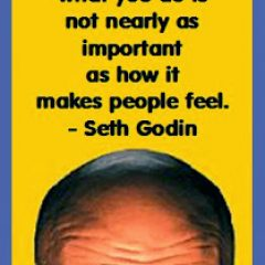 Seth Godin on Making People Feel