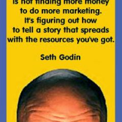 Seth Godin on Telling Stories