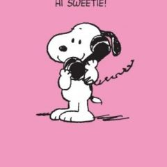 Snoopy Makes a Phone Call - Hi Sweetie