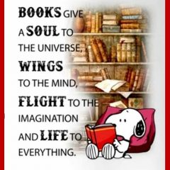 Snoopy on Books