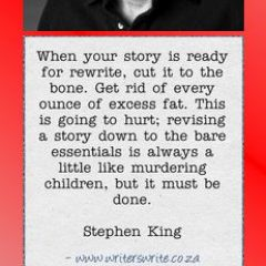 Stephen King on Editing