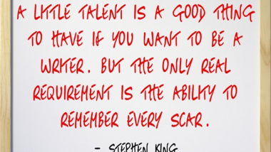 Stephen King on Being a Writer