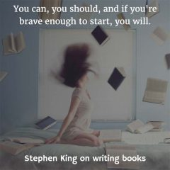 Stephen King on Writing Books