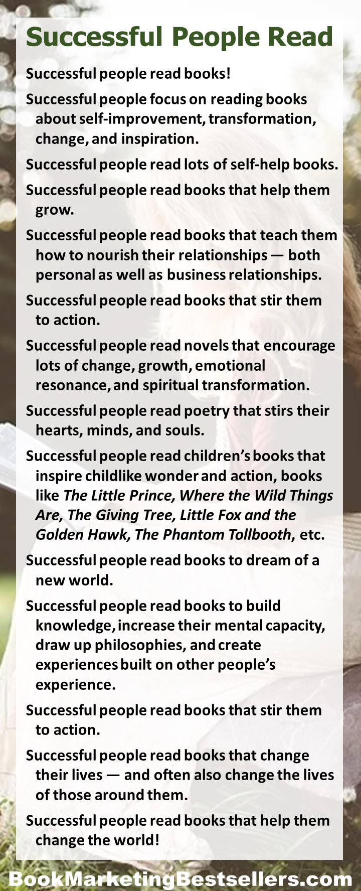 Successful People Read Books