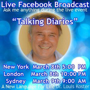 Talking Diaries by Louis Koster