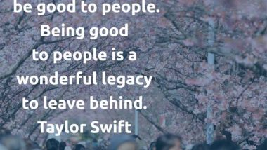 Taylor Swift quotation