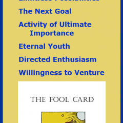 The Fool Card, Book One of The Tarot Mysteries by Bevan Atkinson