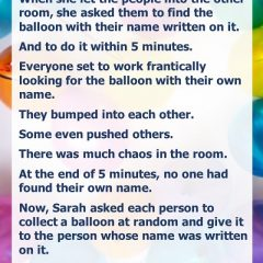 The Parable of the Balloons